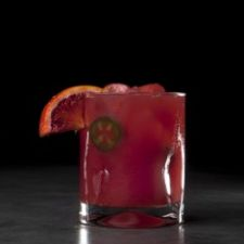 Spicy Sangre Blood Orange Margarita