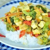Pf Chang's Coconut Curry Vegetables
