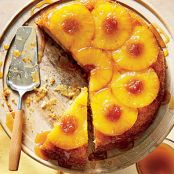 Honey-Pineapple Upside-Down Cake (Cooking Light)