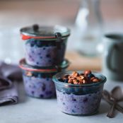Blueberry-Chia Overnight Oats