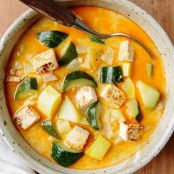 Heidi Swanson's Summer Squash Soup with Coconut Milk