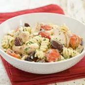 Pasta w/Artichokes, Tomatoes and Feta