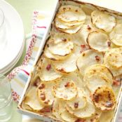 SWISS CHEESE SCALLOPED POTATOES