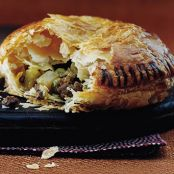 Beef & Curry Pie