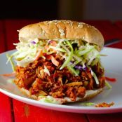 Pulled Jerk Pork Sandwiches, Slow-Cooker