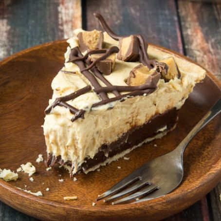 Chocolate Bottom Peanut Butter Pie