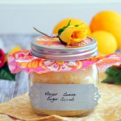 Meyer Lemon Sugar Scrub - Homemade