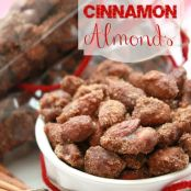 Slow Cooker Cinnamon Almonds