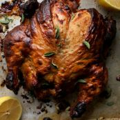 Tahini Roasted Chicken
