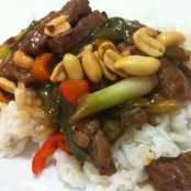 Beef and Green Onion Stir-Fry