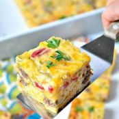Aunt Bee's Sausage and Cheese Squares