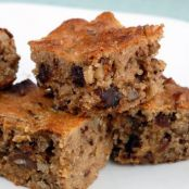 Gluten-Free Date & Walnut Bars