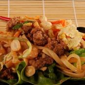 Thai Beef and Noodle Stir Fry