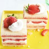 Strawberry Shortcake Ice Box Bars