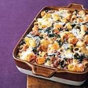 Sausage and Swiss Chard Rigatoni