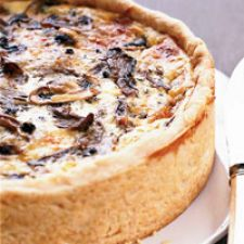 Over the Top Mushroom Quiche