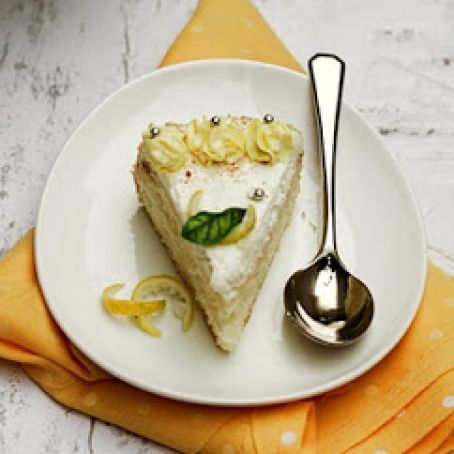 Lemon Quark Cream Cake