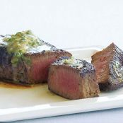 Pan-Seared Steak with Caper-Anchovy Butter