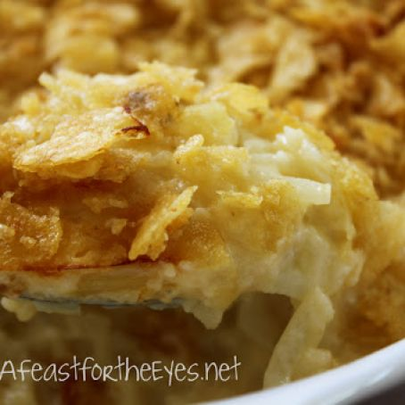 Creamy & Cheesy Funeral Potatoes