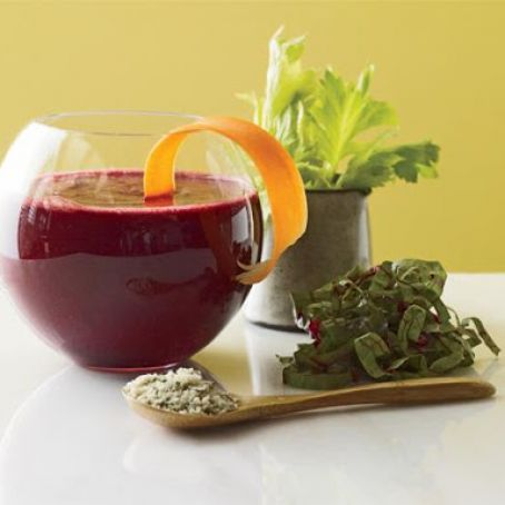 Beet-Orange Bliss Detox Smoothie