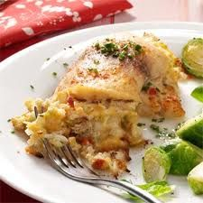 Tilapia Stuffed with Crabmeat