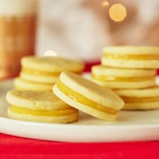 Lemon Curd Sandwich Cookies