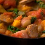 Bratwurst and Butternut Squash Stew