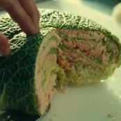 Choux farci au Saumon / Salmon Stuffed Cabbage - From the Movie Haute Cuisine