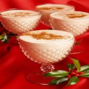 Spicy Apple Eggnog