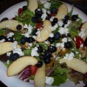 Apple, Blueberry, and Walnut Salad