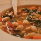 Hearty Tuscan Bean Stew with Sausage & Cabbage