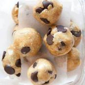 Easy Banana, Choc Chip,Peanut butter,  Cookie balls