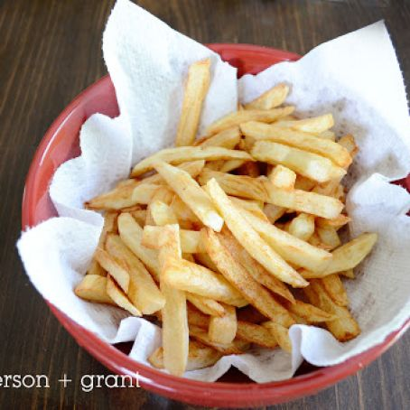 Homemade French Fries Recipe 4 5 5