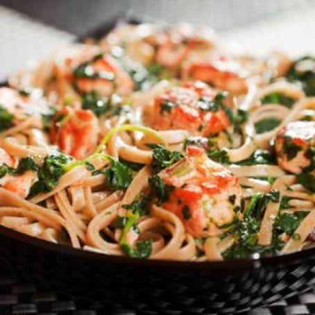 Slow Cooker Salmon Spinach Pasta Recipe 3 8 5