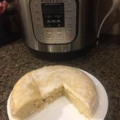 Instant Pot Lemon Yogurt Cake
