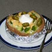 Broccoli Cheddar Baked Potato
