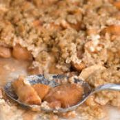 Shortbread Apple Crisp Topping