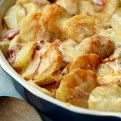 SCALLOPED RED POTATOES