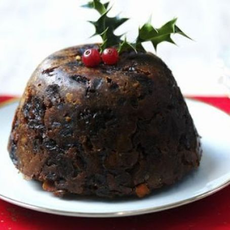 Old Fashioned Holiday Steamed Plum Pudding