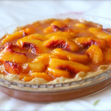 Perfect Pie Crust Peach Pie