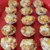 Cheesy Bacon Appetizer Cups