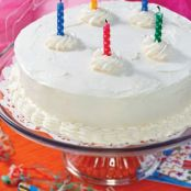 Low Carb White Birthday Cake