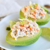 Crab-Stuffed Avacados