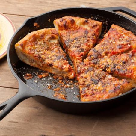 Chicago-Style Deep Dish Pizza by Emeril Lagasse Recipe - (10.10/10)