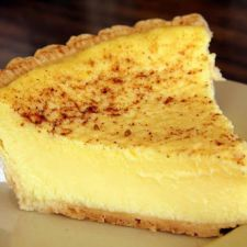Coconut Custard Old Fashioned Custard Pie