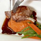 Grilled Berkshire Pork Chops with Merlot Sauce - Scott Johnson