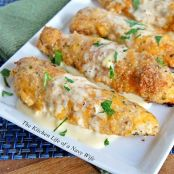 Crispy Cheddar Chicken Tenders