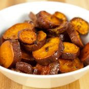 Roasted Sweet Potato Coins