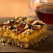 Pumpkin Streusel Cheesecake Bars (Award Winning)