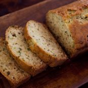 Lemon Rosemary Zucchini Bread